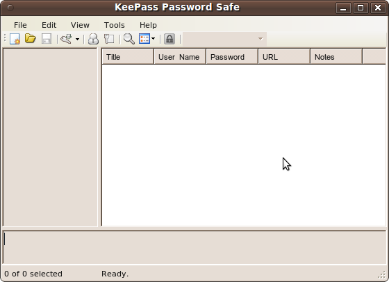 Bildschirmfoto-KeePass Password Safe - Mit Text